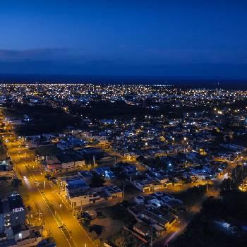 Vista aérea de Tangará da Serra