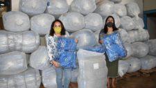 """Tangará recebe 800 cobertores do programa """"Aconchego"""" e distribui à pessoas em situação vulnerável"""
