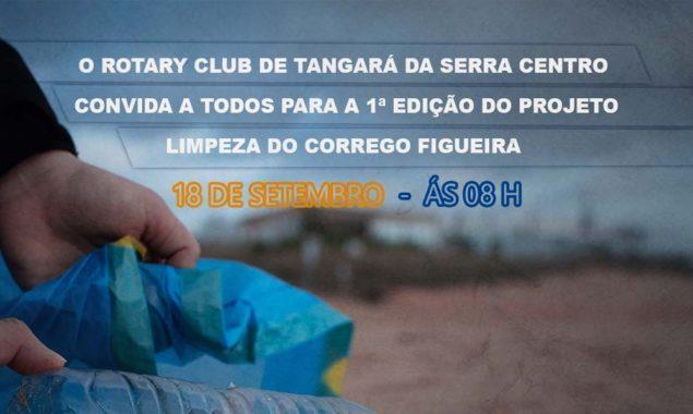 Município auxiliará Rotary Club em ação de limpeza do Córrego Figueira