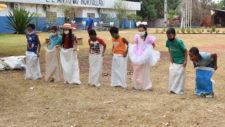 Crianças das escolas de comunidades rurais recebem Circuito da Alegria